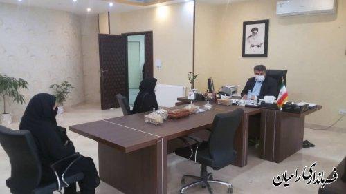 ملاقات مردمی فرماندار شهرستان رامیان برگزار شد