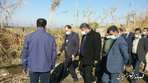 دیدار فرماندار رامیان از شهر دلند و نشست با شهردار و شورای اسلامی شهر