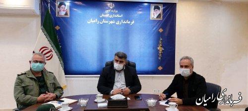 برگزاری دومین جلسه قرارگاه مواسات و همدلی و طرح کمکهای مومنانه