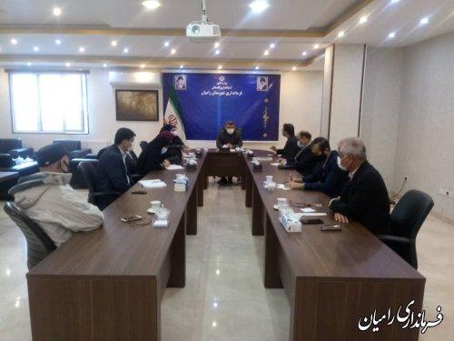 کارگروه تخصصی شهر ملی ابریشم در شهرستان رامیان تشکیل شد