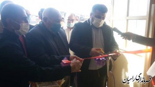 افتتاح مدرسه در روستای حسین آباد تپه سری بخش فندرسک