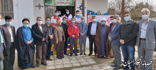 افتتاح مرکز نیکوکاری کارآفرینی شهدا روستای قره قاچ