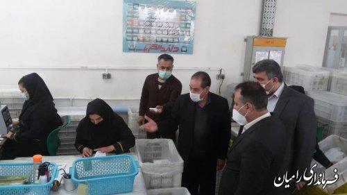 بازدید دکتر پناه معاون پشتیبانی و منابع انسانی وزارت تعاون ، کار و رفاه اجتماعی از کارخانه دلند الکتریک