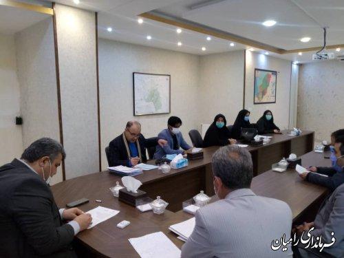 برگزاری اولین جلسه کار گروه صنعت نوغانداری و هنر ابریشم بافی در شهرستان رامیان