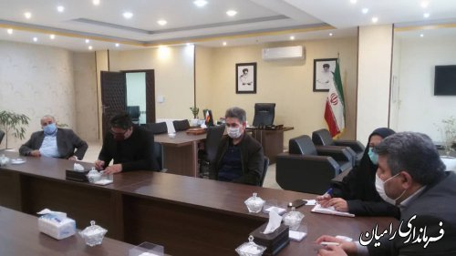 هیات رئیسه شورای اسلامی شهرستان رامیان انتخاب شد