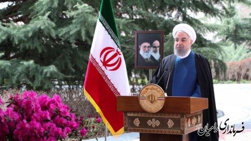 پیام نوروزی دکتر حسن روحانی؛ رئیس جمهور به مناسبت سال نو