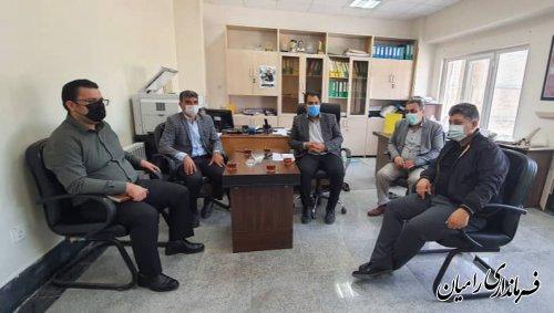 اولین نشست اعضای هیات بازرسی انتخابات شهرستان رامیان برگزار شد.