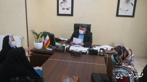 ملاقات عمومی مردم شهرستان رامیان با فرماندار