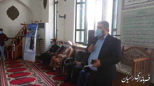"""پویش """" ایران همدل """" این بار در شهرستان رامیان"""