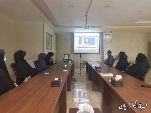 دیدار مجازی معلمان نمونه با رییس جمهور