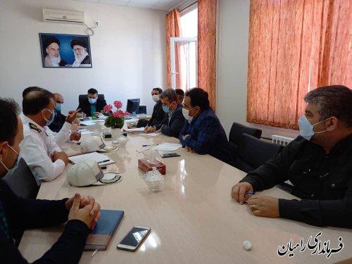 برگزاری اولین جلسه شورای ترافیک شهرستان در سال ۱۴۰۰