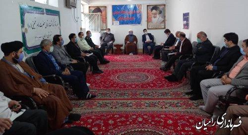 اولین جلسه شورای فرهنگ عمومی شهرستان رامیان برگزار شد.
