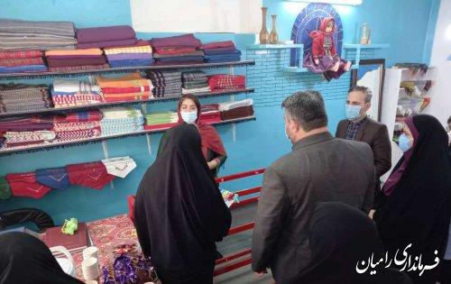 نشست بانوان فعال شهرستان با مدیرکل امور بانوان و خانواده استانداری و فرماندار شهرستان