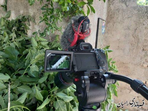 تهیه مستند از روند پرورش کرم ابریشم و صنعت نوغانداری در رامیان