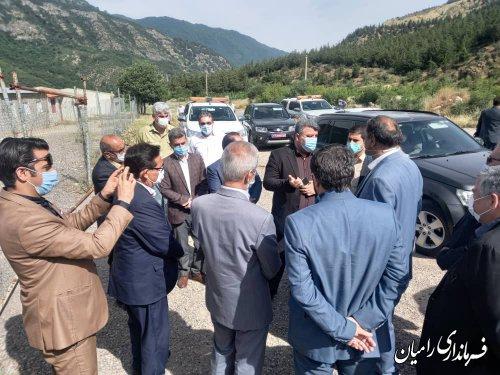 تلاش جهادی برای تکمیل احداث و مرمت محور اولنگ رامیان