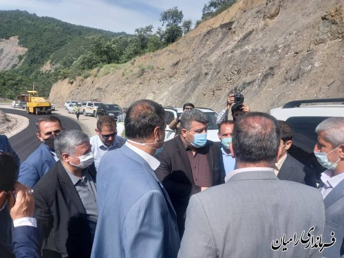 اعتباری دیگر برای طرح بهسازی جاده ی رامیان به شاهرود(محور اولنگ)