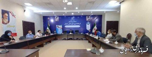 شورای هماهنگی ثبت احوال شهرستان رامیان تشکیل جلسه داد.
