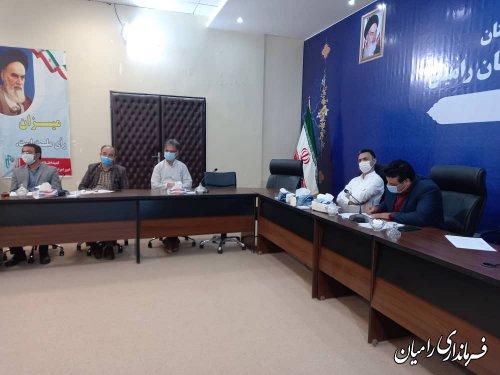 کمیته مناسب سازی فضای شهری و شورای سالمندان شهرستان تشکیل جلسه داد.