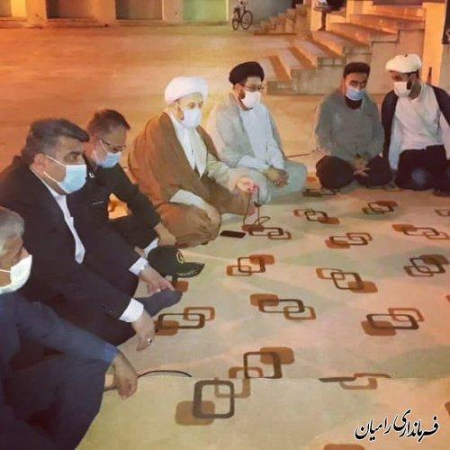 برگزاری یادواره شهدای محور مقاومت، سردار سپهبد سلیمانی و شهید ابومهدی المهندس در شهر دلند
