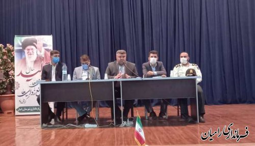 برگزاریجلسه توجیهی نامزدهای ششمین دوره انتخابات شوراهای اسلامی شهرستان رامیان