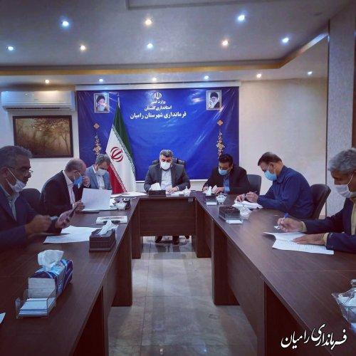 آمادگی کامل شهرستان رامیان برای برگزاری انتخابات ۱۴۰۰