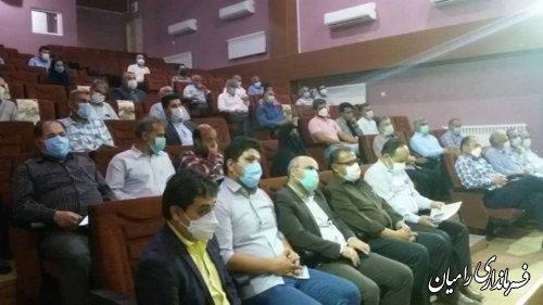 جلسه توجیهی نمایندگان بخشدار بخش فندرسک شهرستان رامیان برگزار شد.