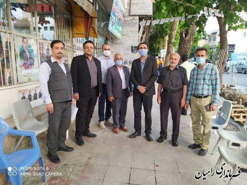 بازدید میدانی ارکان برگزاری انتخابات شهرستان از ستادهای انتخاباتی