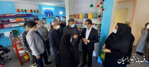 افتتاح مرکز تخصصی ابریشم رامیان (ایپک)