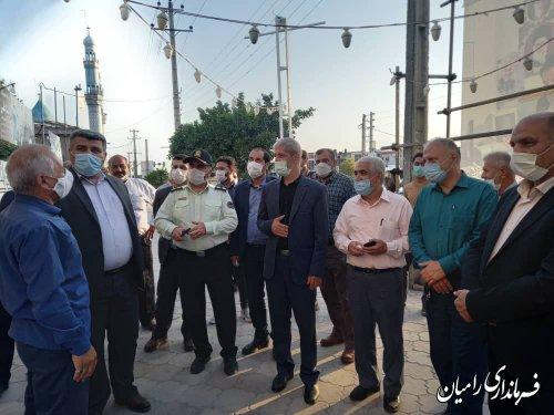اوج شور انتخاباتی در میدان های حقیقی و مجازی شهرستان رامیان