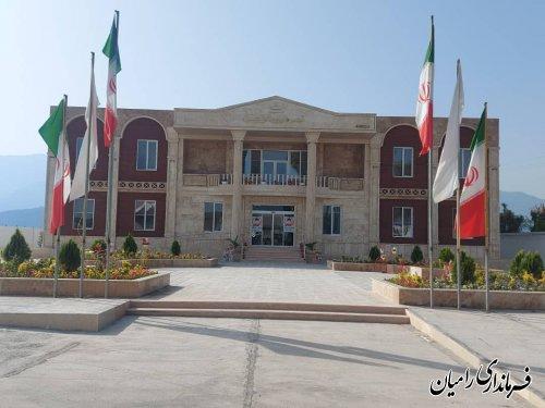 افتتاح ساختمان جدید شهرداری خان ببین