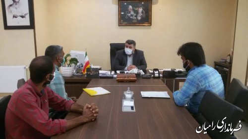 ملاقات مردمی فرماندار شهرستان رامیان طبق روال هر هفته انجام شد