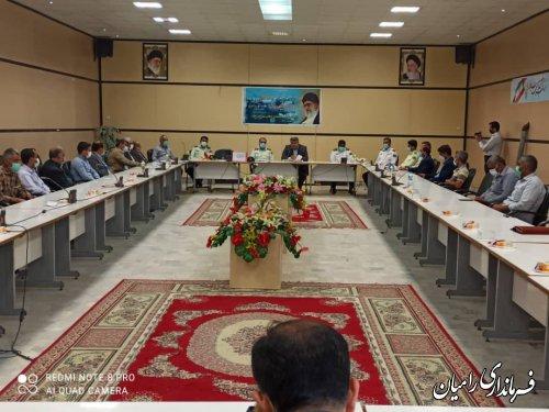 جلسه هم اندیشی دهیاران وشوراهای اسلامی روستاهای بخش مرکزی با نیروی انتظامی شهرستان برگزار شد