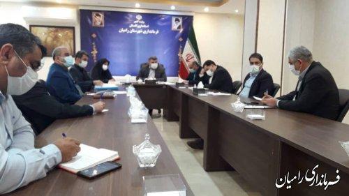 تشکیل شورای مسکن شهرستان رامیان